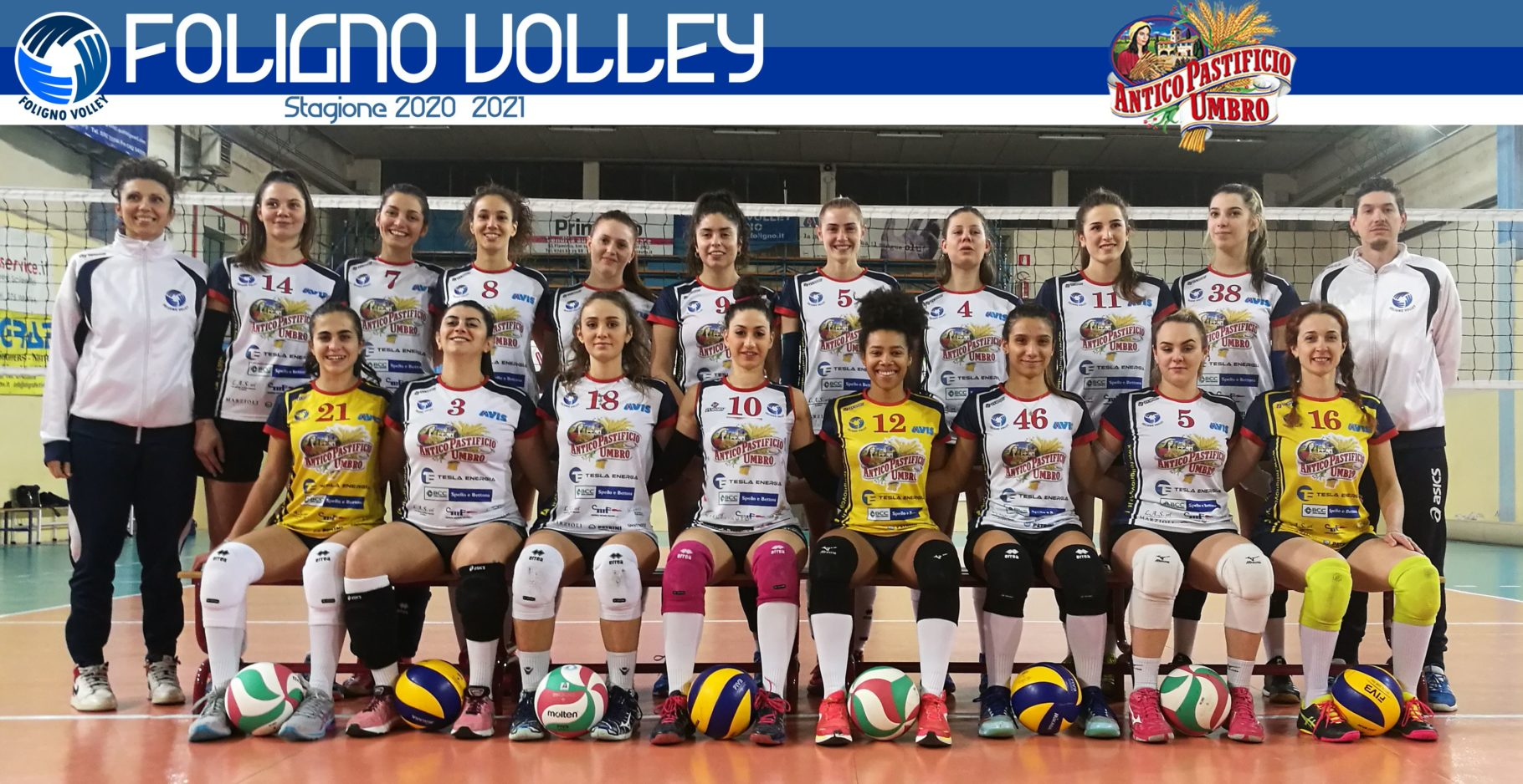 Foligno Volley2021 Antico Pastificio Umbro